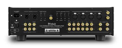 McIntosh Reintroduces C22   The Absolute Sound