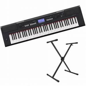 Yamaha Np V60 : yamaha piaggero np v60 b rbar keyboard sort gratis ~ Jslefanu.com Haus und Dekorationen