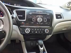 Frente Adaptador De Est U00e9reo 2din Honda Civic A U00f1o 2013 A 2015