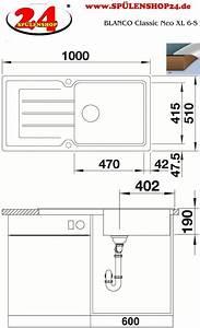 Blanco Classic Neo 5 S : blanco classic neo xl 6 s g nstig kaufen silgranit sp le ~ Frokenaadalensverden.com Haus und Dekorationen