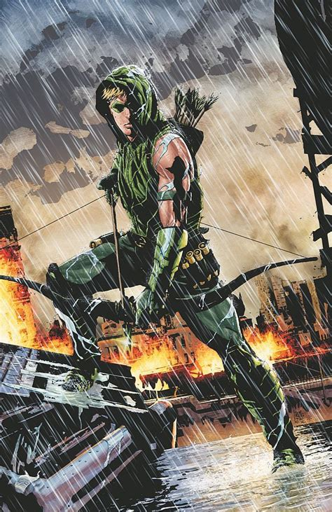 Preview Jeff Lemire On Green Arrow #17 And Beyond