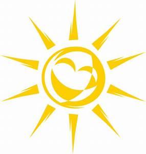 Joyful Sun Clip Art at Clker.com - vector clip art online ...