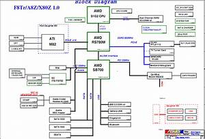 Asus F8tr A8z X80z Schematic Diagram  U2013 Laptop Schematic