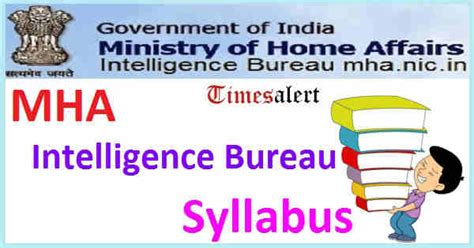 intelligence bureau sa mha intelligence bureau security assistant syllabus 2016 pdf