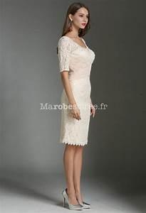 Robe De Mariée Champagne : robe fourreau champagne dentelle ~ Preciouscoupons.com Idées de Décoration