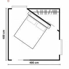 cabina armadio camera piccola quadrata Cerca con Google House plans Pinterest Bedrooms