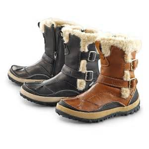 womens boots merrell 39 s merrell taiga buckle waterproof boots 297346 winter boots at sportsman 39 s guide