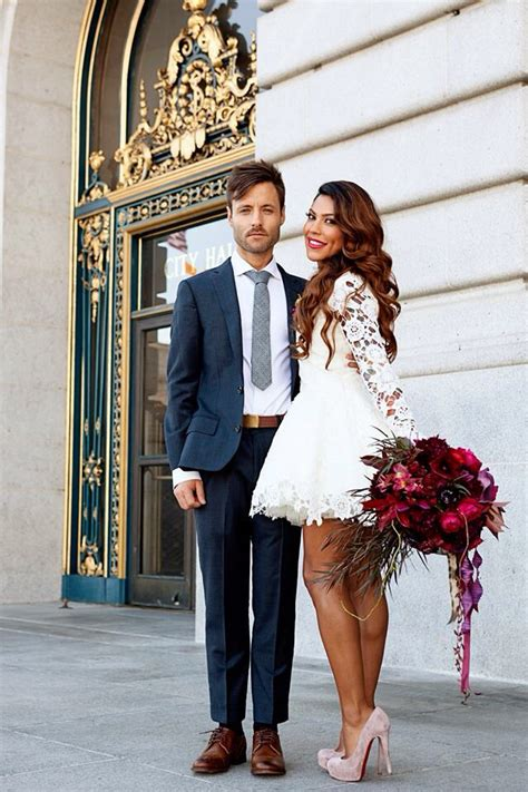 courthouse chic wedding dress by dreamerslovers wedding