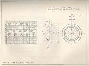 Patent Date Chart Hardinge C24 Chuck Mount Plate