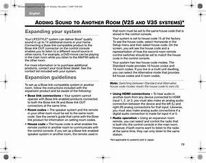 Bose 420129 Remote Control User Manual Cover 8 5x6 5 Op