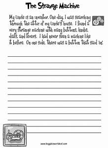 19 Best Images of Second Grade Creative Writing Worksheets ...