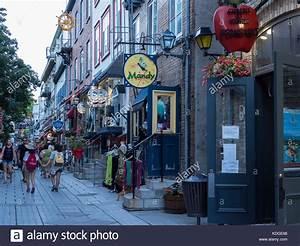 Rue Du Petit Champlain Stock Photos  U0026 Rue Du Petit