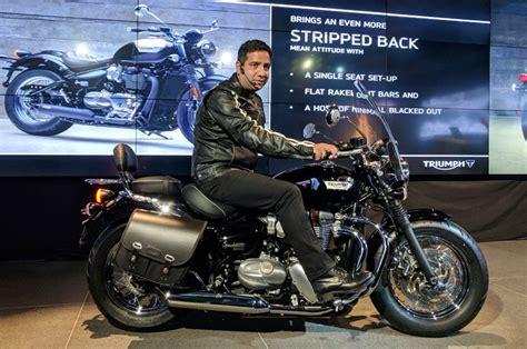 triumph bonneville speedmaster launched  india