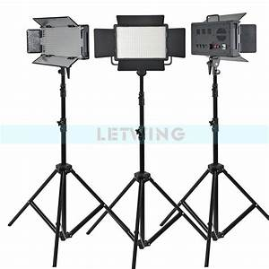 Yellow Version Godox 1500W 3X LED 500W Photo Studio Video ...