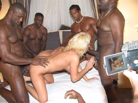 Blacked Party Student Babes Shared A Fat Bbc