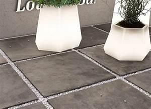 Carrelage Exterieur Epaisseur 2 Cm : dalle fusion piombo carrelage ext rieur 2 cm gris effet b ton carra france ~ Carolinahurricanesstore.com Idées de Décoration