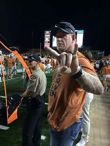 The Undertaker & Michelle McCool Attend Football Game ...