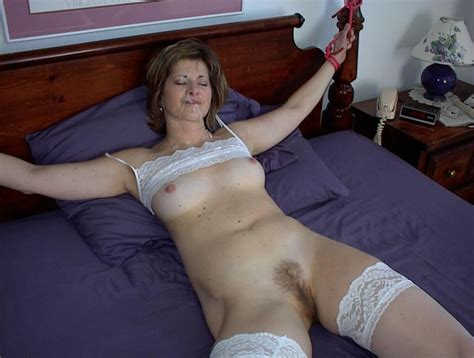 Tied Up MILF In White Lace Facial Fun Sorted By Position Luscious