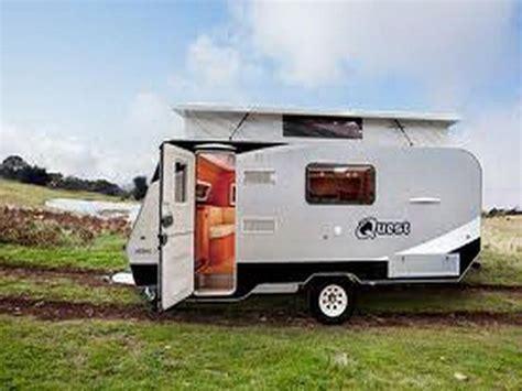 small travel trailer  family