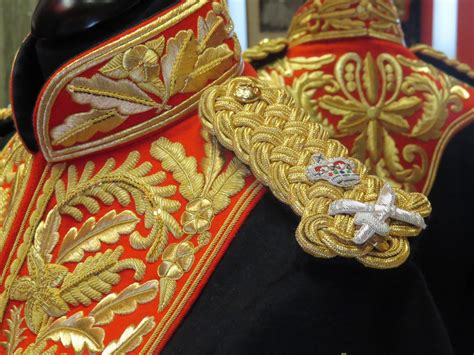 military  ceremonial embroidery  britains finest atelier
