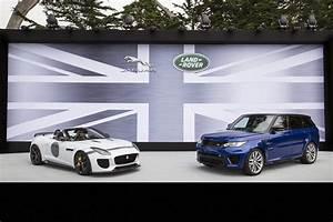 Land Rover Jaguar : 2014 pebble beach jaguar land rover launches speed seeking svo division la times ~ Medecine-chirurgie-esthetiques.com Avis de Voitures