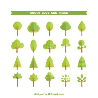 Baum der Liebe mit herzförmigen Blättern  Download der