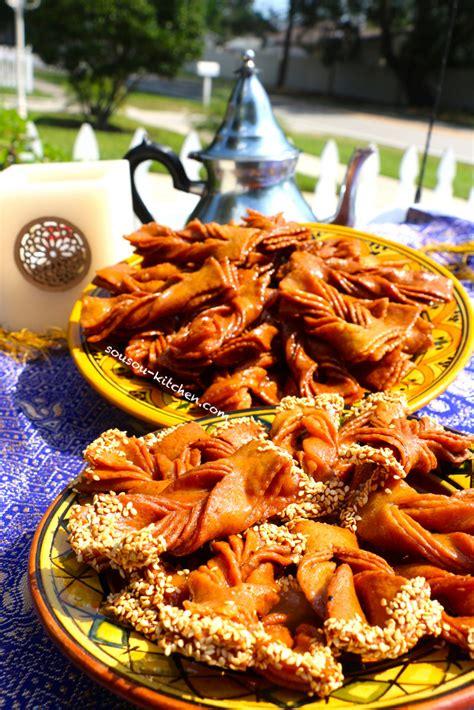 recette de chebakia patisserie orientale griwech holidays oo