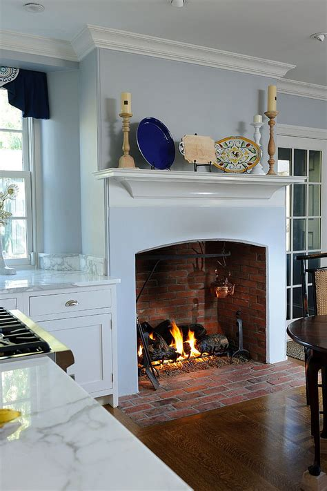 kitchen fireplace ideas hot trends give your kitchen a sizzling makeover with a fireplace