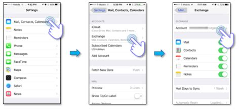 device management iphone enabling mobile device management on ios devices office