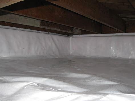 covering basement crawl space floor with plastic vapor barrier terrafirma crawl space repair photo album cleanspace portland or