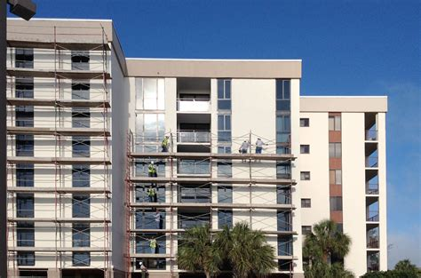 suncoast performs exterior window replacement  facade