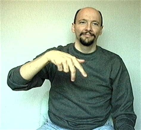 walk american sign language asl