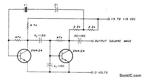 Low Freauency Crystal Oscillator Khz