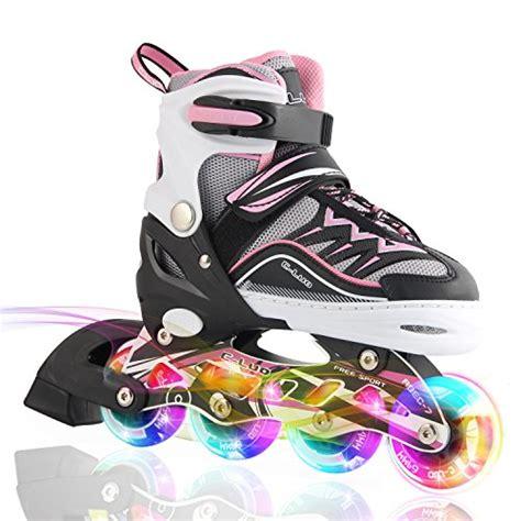 light up skates free shipping kuxuan cira adjustable inline