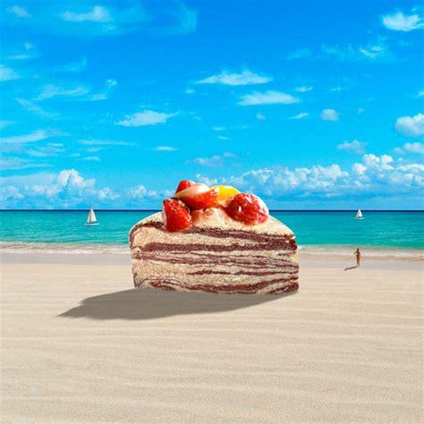 cake   ocean  evanlawrence  deviantart