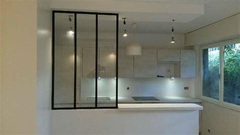 chez cuisine cuisine ouverte avec verrière artemis design cuisines bains