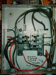 Electrical Panel Interior Inspection  U0026 Hazards For Electrical  U0026 Home Inspectors