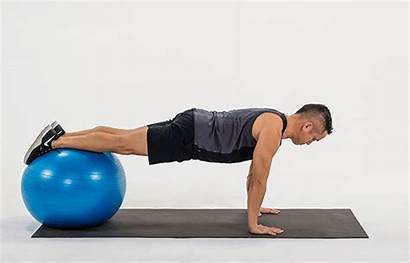 Ball Stability Exercises Exercise Core Abs Hip