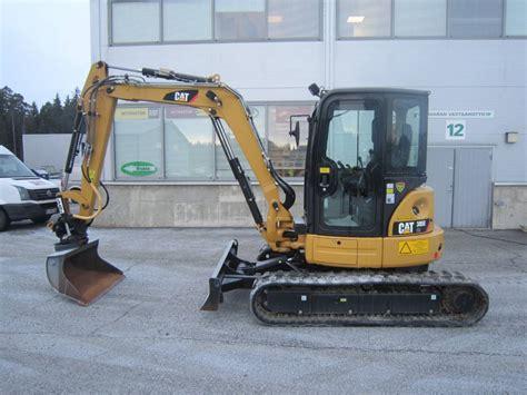 caterpillar  cr mini excavators