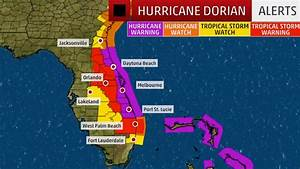 Dorian Triggers Hurricane Watches and Warnings for Florida ...