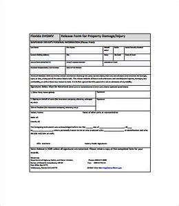 release form template 10 free pdf documents download With property damage release form template