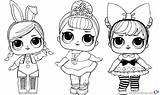 Lol Coloring Sheet Printable Surprise Dolls Doll Boyama Bebek Kleurplaat Colorare Pets Barbie Kleurplaten Unicorn Bettercoloring Stampare Adults Sayfalari Colorir sketch template
