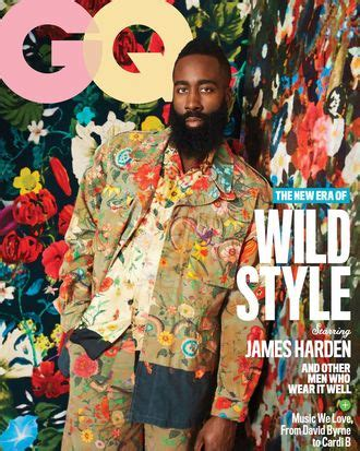 James Harden Wears Pink Comme des Garcons Shorts in GQ