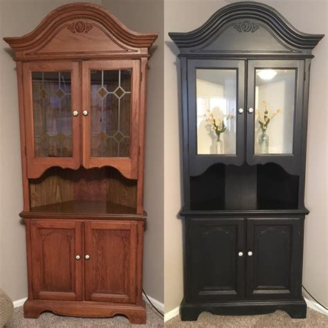 hutch in lamp black milk paint general finishes design