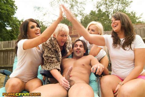 pool handjob party by three hot seductive s xxx dessert