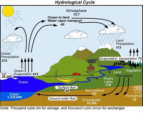 The Water Cycle Diagram Pdf by Freshwater Issues And Conflicts The Geographer
