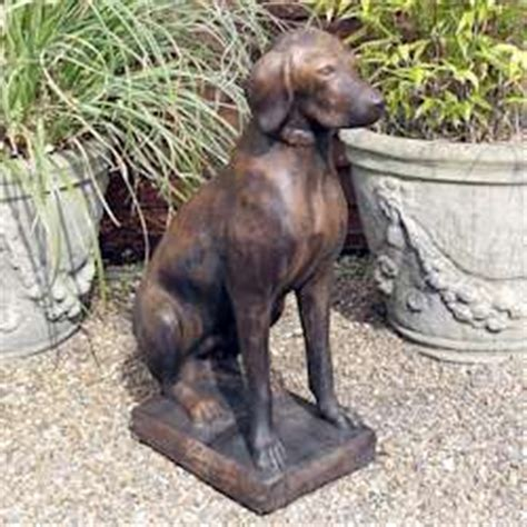 animal garden ornaments deer dog cat statues