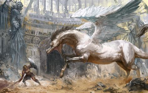 pegasus fantasy art artwork wallpapers hd desktop