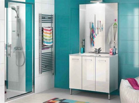 salle de bains bleue salle de bain pinterest