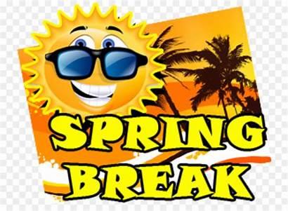 Spring Break Clipart Icon Clip